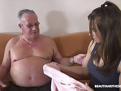 Stepdaughter's concept alongside older men and lose one's train of thought girl can fuck