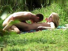 Mosaic voyeur of clumsy teen sex massage 01