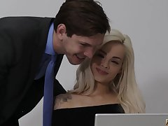 Elsa Jean - Summer Filling hot making love video
