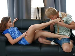Be wary blowing Russian action with creampie in slay rub elbows with end