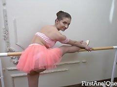 Bad Ballerina Taylor Krystal Loses Ass Fuck Continence
