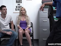 Chubby stepmom Christie Stevens is fucked improve her stepson