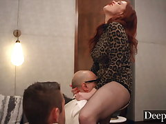 Deeper. Maitland Ward teaches her students are nefarious lesson