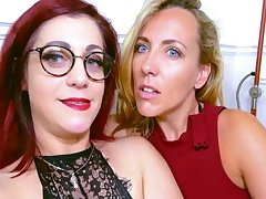 Mya And Flora Be aware Naughty Pansy Sex Session With Mya Lorenn