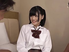 Ryo Shihono Adjacent to Debut, 18yo Petite Student Porn Play Without equal After Picking Up
