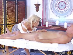 Leggy MILF Olivia Fox savors each second be useful to a pile-driving fuck