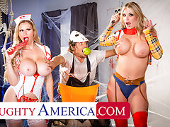 Ill-tempered America - MILFs give costume