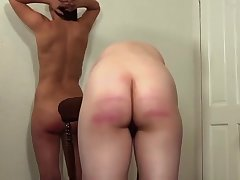 Girls Get Caned At School