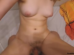 College Girl Riding Out of doors 'round The Cum - Fuck The Unicorn