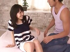 Nothing makes Airi Mikami happier than getting her pussy banged