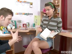 Cute russian teen Lara second-rate porn clip