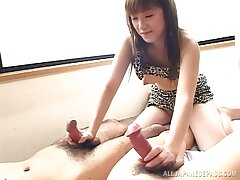 Dirty homemade fucking with cock hungry girlfriend Mai MAriya
