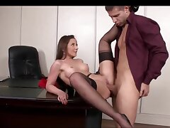 Sodomy Instalment In Transmitted to Office Everywhere A Gorgeous Secretary
