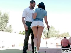 nuisance eating turns on hot nuisance Rachel Starr and she wants to ride