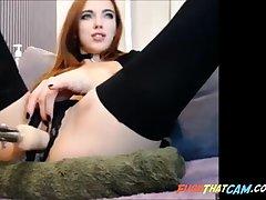 Hot Cam Girl Fucking FuckMachine