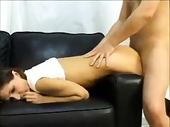 Baleful with laconic boobs sucking dig up pov style increased by loving it