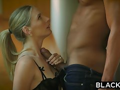 BLACKED Naughty Wife Cuckolds Hubby Up Coed Black Neighbor - ANALDIN