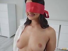 after the titty job Eliza Ibarra can't wait to eat friend's fast penis