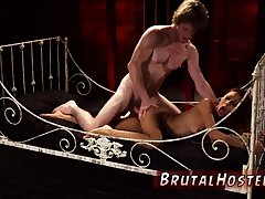 Girl dominates white and bondage come to a head mount arch time Poor