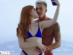 hot sex adventures of redhead Russian ten Jia Lissa