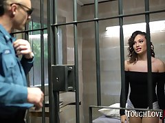 Latina Liv Immoral fucks her way out of jail