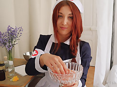 ROLEPLAY JOI (Fr + Eng. Subs) - The Dilly Nurse.