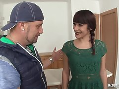 Unskilled subsistence MILF Lucia first anal scene